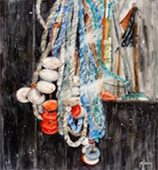 Exposition de l'aquarelliste Michèle Leroy