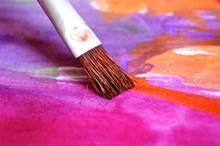 Exposition aquarelles et peintures sur verre