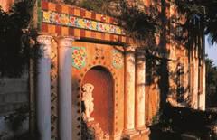 Jardin de céramiques Fontana Rosa ou des Romanciers
