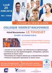 Colloque Vision et Malvoyance
