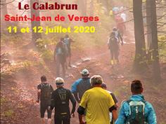 TRAIL LE CALABRUN À ST JEAN DE VERGES