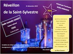 RÉVEILLON DE LA SAINT SYLVESTRE À FOIX