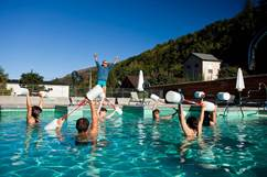 Aquagym aux Bains du Couloubret