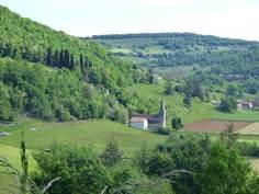 Chemin de croix de Raynaude et cabane de Ticoulet