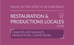 Guide restauration et productions locales des vallées Arize Lèze