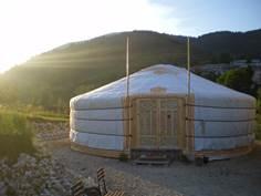 Yourte mongole Domaine le Silence du Midi