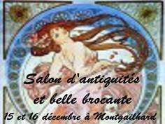 SALON ANTIQUITÉS-BROCANTE  À MONTGAILHARD