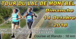 TOUR DU LAC DE MONTBEL
