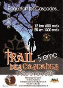 TRAIL DE ROQUEFORT LES CASCADES