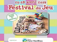 FESTIVAL DU JEU EN PAYS DE FOIX-VARILHES