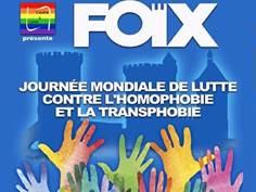 JOURNÉE MONDIALE DE LUTTE CONTRE L'HOMOPHOBIE ET LA TRANSPHOBIE À FOIX