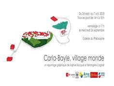 Carla-Bayle, village monde