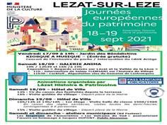 Journées européennes du patrimoine à Lezat