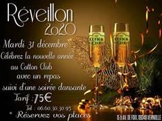 RÉVEILLON AU COTTON CLUB À VERNIOLLE