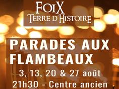 PARADE AUX FLAMBEAUX À FOIX