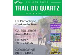 TRAIL DU QUARTZ À PRAYOLS