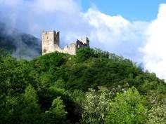 Le château de Miglos