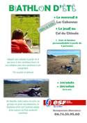 Biathlon d'été à Les Cabannes