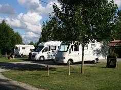 Aire de camping car - Camping du Fossat