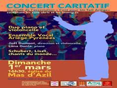 Concert de l'Ensemble Vocal Ariège Pyrénées