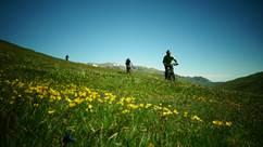VTT et Arapaho avec le Bureau des Guides des Pyrénées Ariègeoises