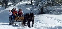 Le carrousel des neiges avec Angaka Village Nordique