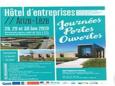 Journées Portes Ouvertes Hôtel d'Entreprises Arize Lèze