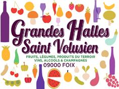 GRANDES HALLES SAINT-VOLUSIEN