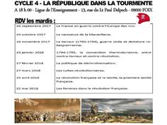 CONFÉRENCES DU CERCLE CONDORCET À FOIX