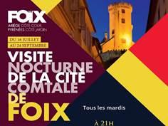 VISITE NOCTURNE DE FOIX