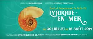 LE PALAIS - Du mardi 30 juillet 2019 au vendredi 16 août 2019 - Festival Lyrique International 2019
