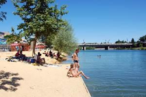 Alès : ALES - Jusqu'au samedi 31 août 2019 - Alès plage, une plage en centre ville !