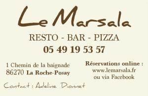 restaurant Marsala/la Roche Posay