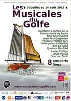 VANNES - Du samedi 27 juillet 2019 au dimanche 11 août 2019 - Les Musicales du Golfe