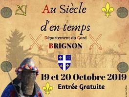 Alès : BRIGNON - Du samedi 19 octobre 2019 au dimanche 20 octobre 2019 - Fête Médiévale