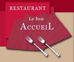 """RESTAURANT""""Le Bon Accueil"""" à St Haon Le Vieux  04 77 64 40 72"""