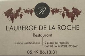 Restaurant Auberge de la Roche