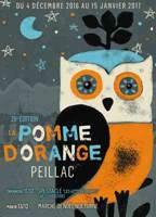 PEILLAC - Jusqu'au dimanche 27 janvier 2019 - La Pomme d'Orange 28ème édition