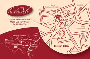 Restaurant La Luciole à Luc sur Orbieu