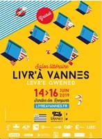 VANNES - Du vendredi 14 juin 2019 au dimanche 16 juin 2019 - Salon Littéraire  Livr'à Vannes