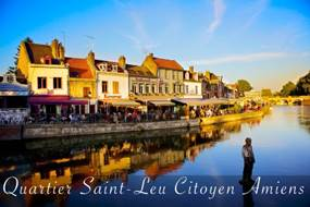 Le quartier Saint-Leu