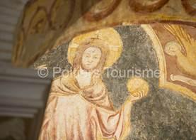 Les peintures du baptistère Saint Jean
