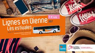 Lignes estivales de bus départementaux depuis Grand Poitiers