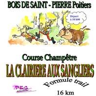 """Cross de Poitiers et Trail """"La Clairière aux sangliers"""""""