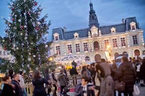 Marché de Noël à Poitiers