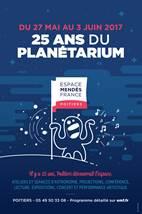 Les 25 ans du planétarium de l'Espace Mendès France à Poitiers