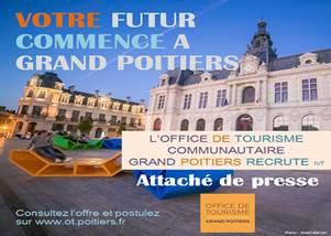 Offre d'emploi Attaché de presse Poitiers