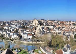 Poitiers vu d'en haut