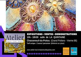 Salon international Broderies Coiffes Dentelles à Chasseneuil-du-Poitou