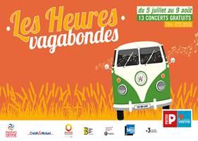 Les concerts du festival des Heures Vagabondes 2019 dans le Grand Poitiers